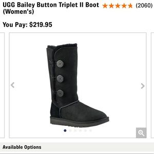 • ugg button-up boots •